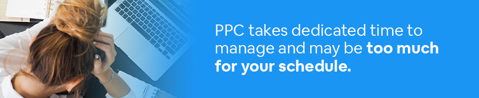 PPC takes dedicated time to manage