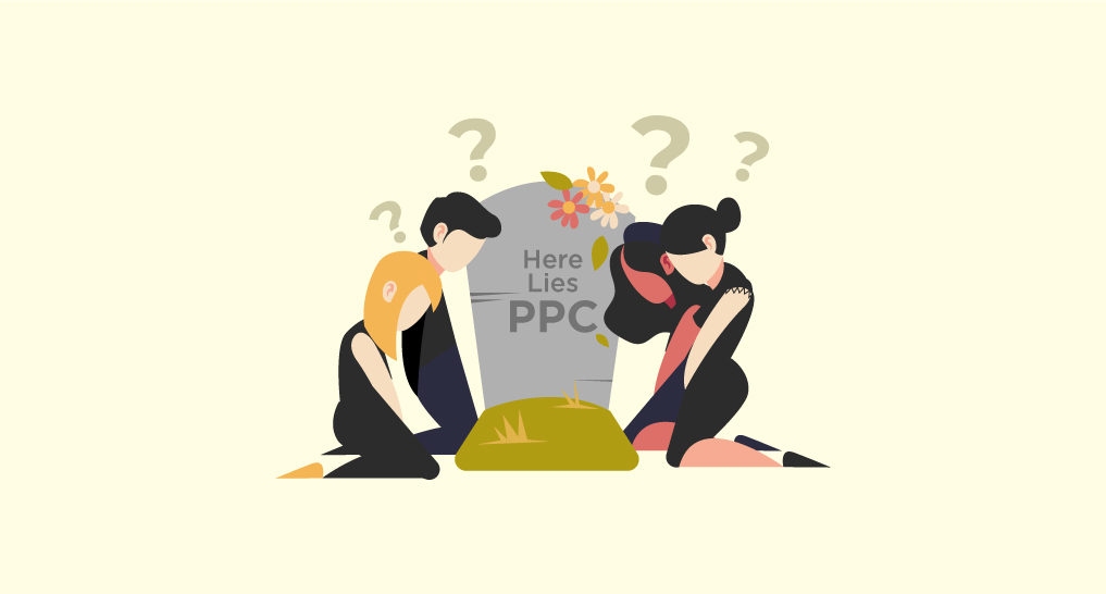 PPC Gravestone with people wondering if it's really dead