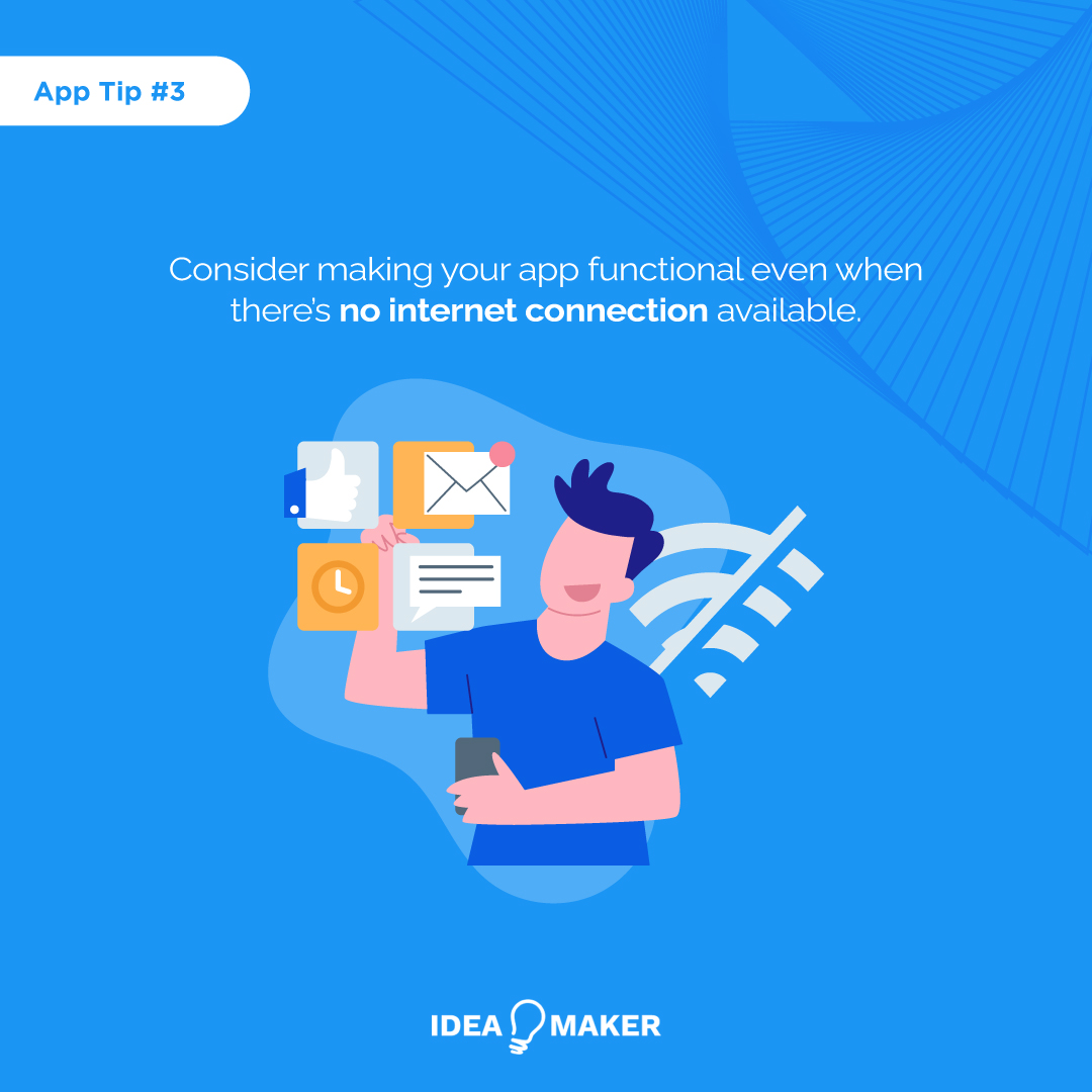 Make sure that your app is designed to be intuitive, responsive, and easy to use. User experience is key for creating an app everyone will love and download.