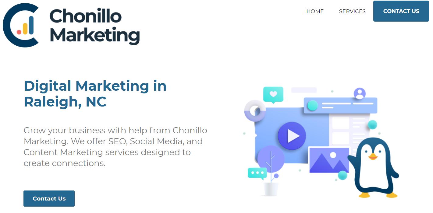 Chonillo Marketing | WordPress Development Company | IdeaMaker